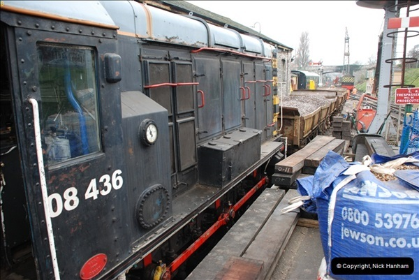 2012-02-07 SR Engineering Work on the 08 (90)0577