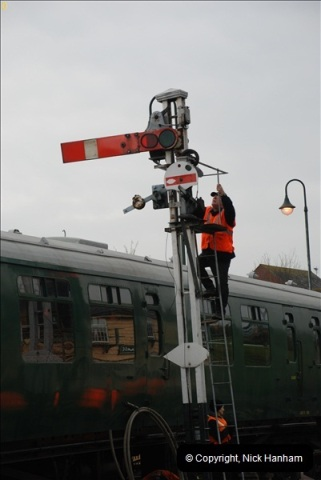 2012-02-07 SR Engineering Work on the 08 (123)0610