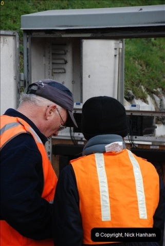 2012-02-07 SR Engineering Work on the 08 (132)0619