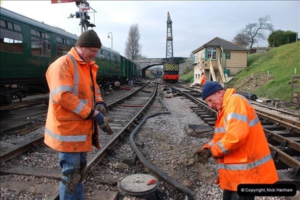 2012-02-07 SR Engineering Work on the 08 (137)0624