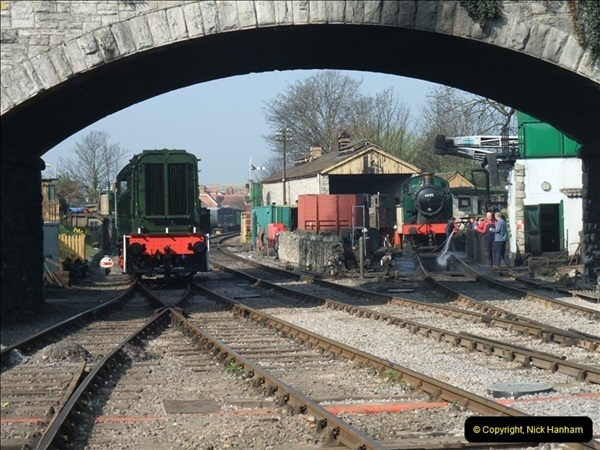 2012-03-24 SR Railway At Work Weekend. Your Host on the DMU.  (7)007
