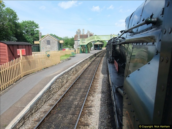 2014-05-19 Driving West Country Class 34028.  (38)421