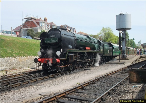 2014-05-19 Driving West Country Class 34028.  (50)433