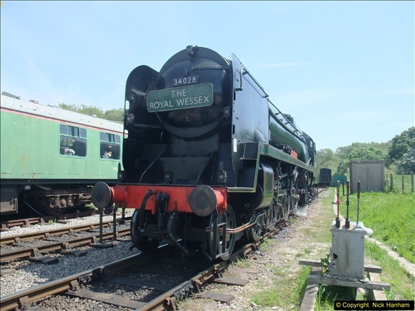 2014-05-19 Driving West Country Class 34028.  (55)438