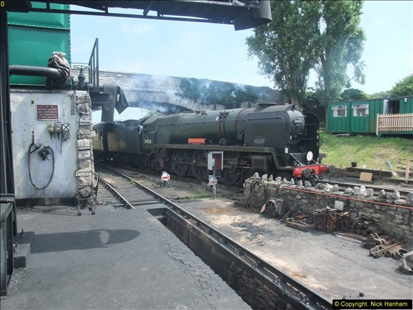 2014-07-30 Early Steam Turn No. 3.  (70)163