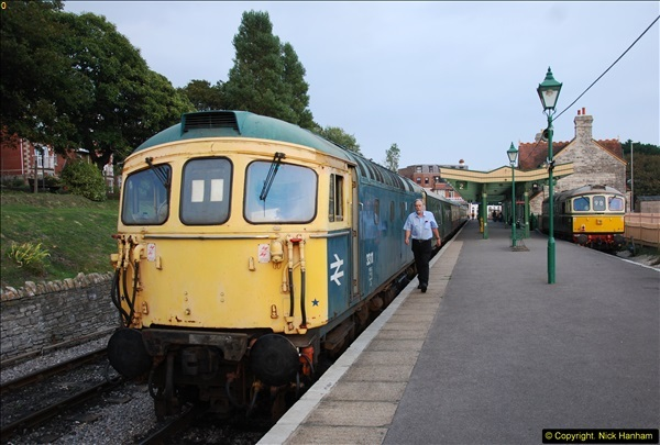 2014-09-05 SR Classic Transport Rally & Late Turn DMU.  (317)317