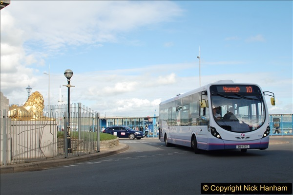 2017-09-22 X54 Bus to Weymouth.  (281)281