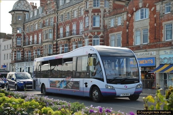 2017-09-22 X54 Bus to Weymouth.  (324)324
