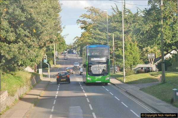 2017-09-22 X54 Bus to Weymouth.  (398)398