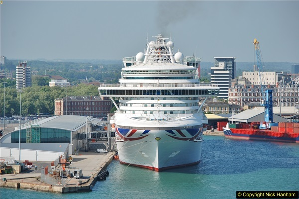 2018-05-19 & 18 Poole - Southampton - Bay of Biscay.  (89)089