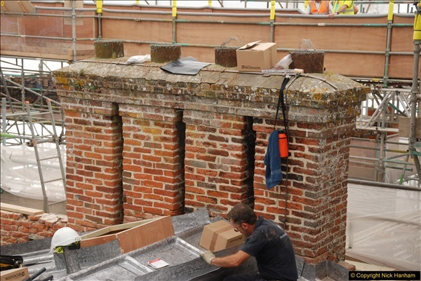 2017-07-05 The Vyne NT. Roof repairs.  (18)018