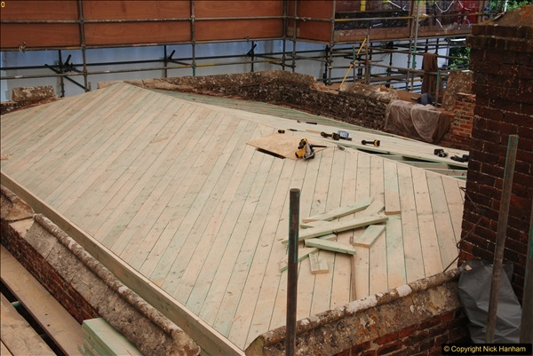 2017-07-05 The Vyne NT. Roof repairs.  (44)044