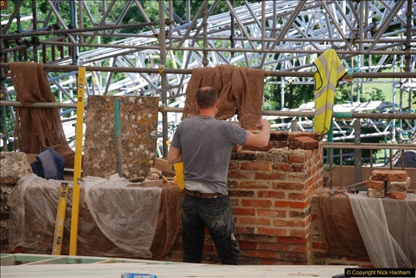 2017-07-05 The Vyne NT. Roof repairs.  (46)046