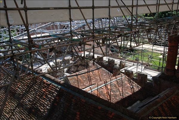 2017-07-05 The Vyne NT. Roof repairs.  (55)055
