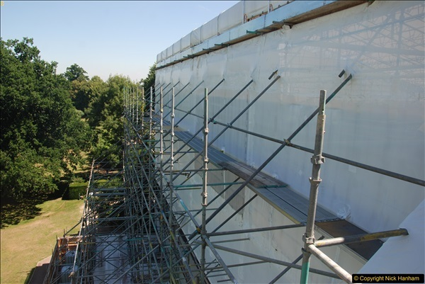 2017-07-05 The Vyne NT. Roof repairs.  (71)071