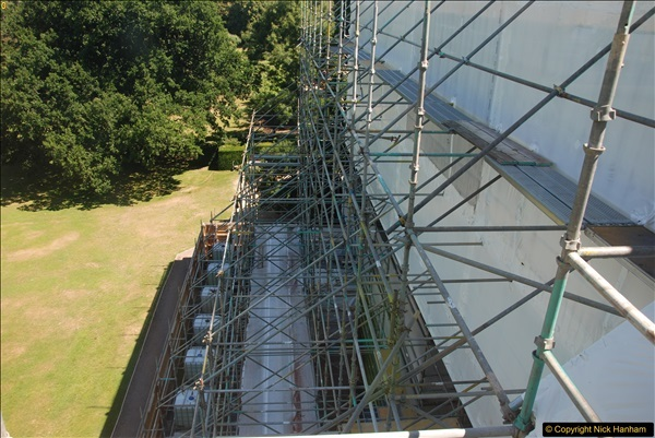 2017-07-05 The Vyne NT. Roof repairs.  (72)072