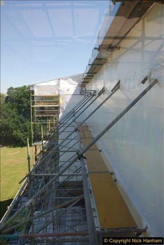 2017-07-05 The Vyne NT. Roof repairs.  (83)083