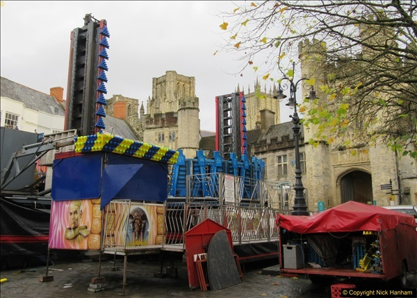 2016-11-17 The fair for the Wells Carnival. Wells, Somerset. (10)419