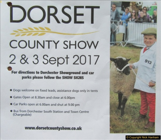 2017-09-02 The Dorset County Show 2017.  (1)001