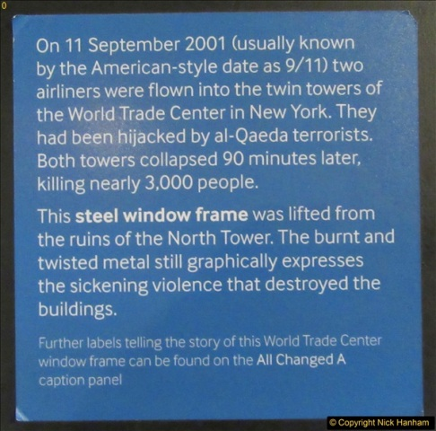 2017-09-17 & 18 London and the IWM.  (205)205