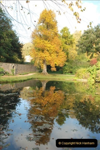 2018-10-21 Dyrham Park (NT) Autumn Colour. Near Bath, Somerset.  (19)019