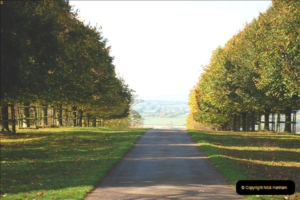 2018-10-21 Dyrham Park (NT) Autumn Colour. Near Bath, Somerset.  (59)059