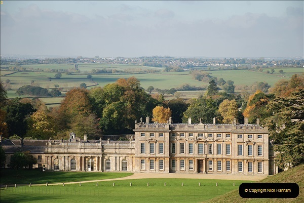 2018-10-21 Dyrham Park (NT) Autumn Colour. Near Bath, Somerset.  (63)063
