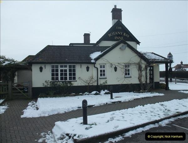 2013-01-21 The Botany Bay Inne, Winterborne Zelston, Dorset.   (1)037