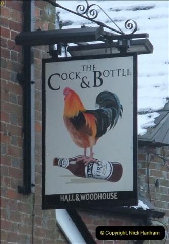 2013-01-21 The Cock & Bottle, Morden, Dorset. (3)041