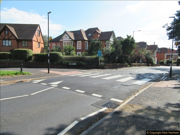 2017-09-19 New Tiger Crossing in Southbourne, Bournemouth.  (2)280