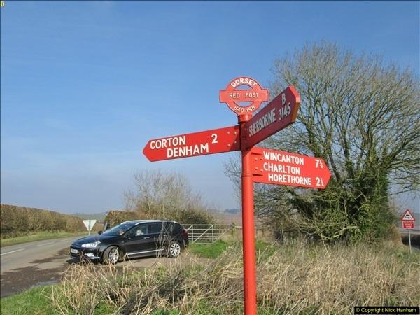2018-02-21 Red Post cross roads, near Dorchester, Dorset.  (3)296