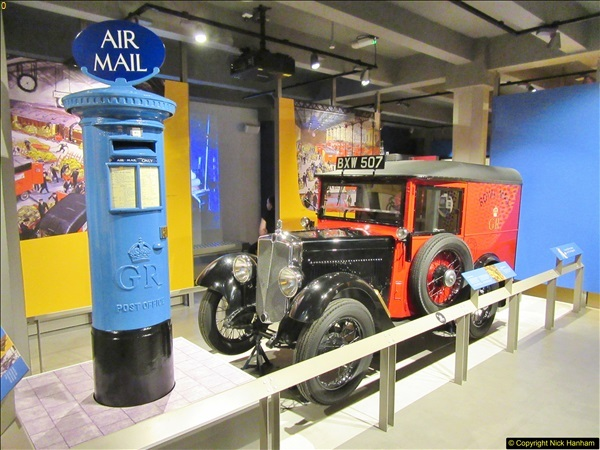 2018-06-09 The Postal Museum, Mount Pleasant, London.  (49)049