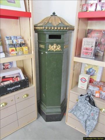 2018-06-09 The Postal Museum, Mount Pleasant, London.  (118)118