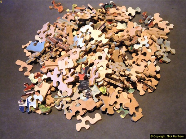 2014-02-15. A proper jigsaw puzzle issued by the GWR.  (11)223