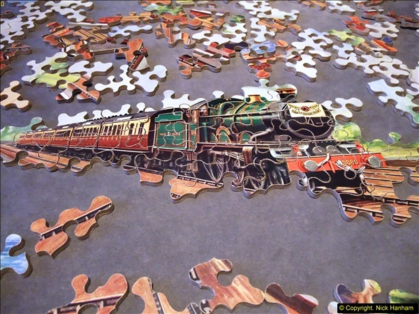 2014-02-15. A proper jigsaw puzzle issued by the GWR.  (13)225