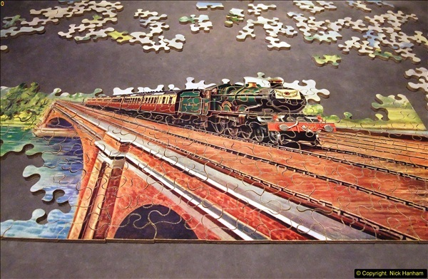 2014-02-15. A proper jigsaw puzzle issued by the GWR.  (14)226