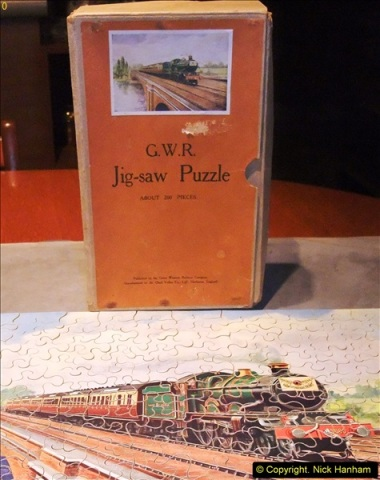 2014-02-15. A proper jigsaw puzzle issued by the GWR.  (16)228