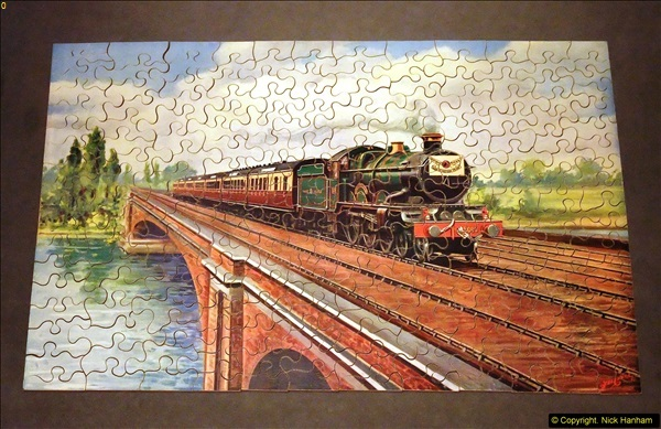 2014-02-15. A proper jigsaw puzzle issued by the GWR.  (18)230