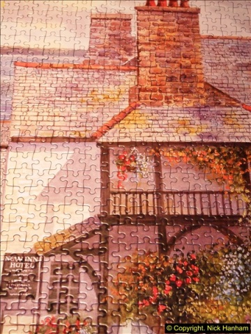 2015-08-04 The two X 1000 piece puzzles of Clovelly completed (8)147