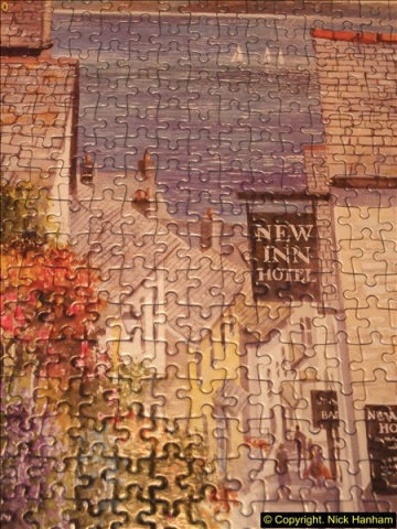 2015-08-04 The two X 1000 piece puzzles of Clovelly completed (9)148