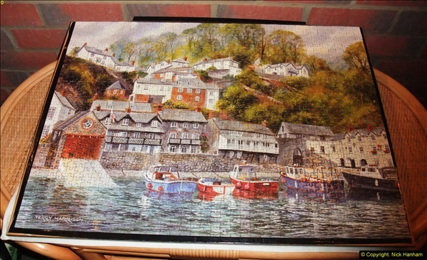 2015-08-04 The two X 1000 piece puzzles of Clovelly completed (10)149