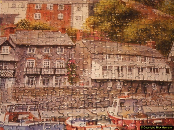 2015-08-04 The two X 1000 piece puzzles of Clovelly completed (16)155