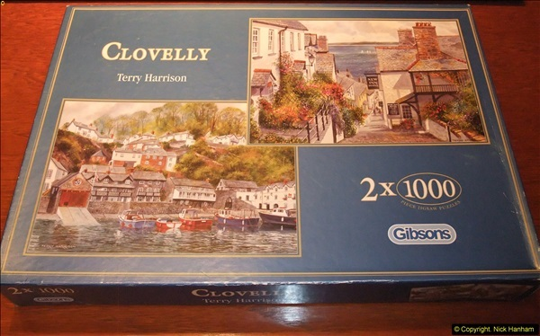 2015-08-04 The two X 1000 piece puzzles of Clovelly completed (18)157