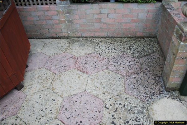 2015-04-28 Jet washing paths and outside house now finished.  (4)405