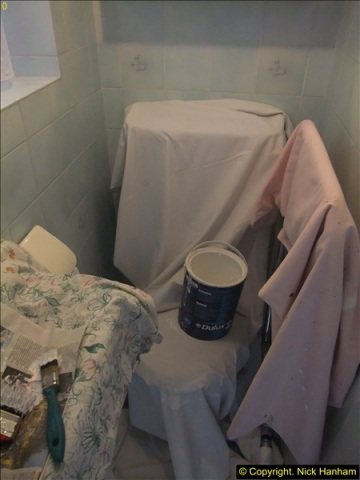 2015-07-19 to 21 Decorating the loo and shower room. (3)536