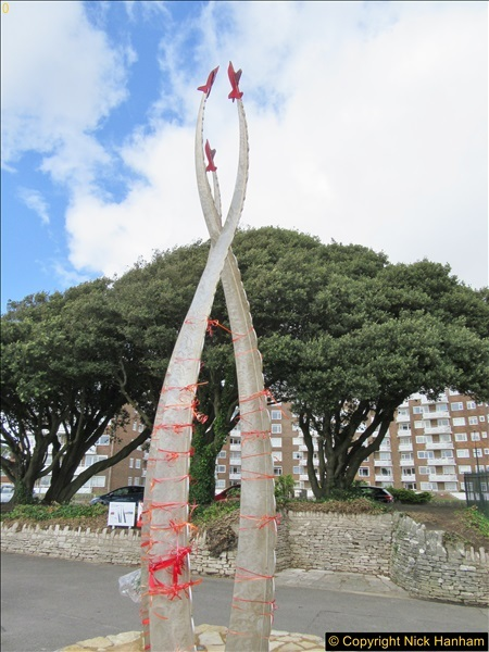 2017-09-11 The repositioned Jon Egging Memoril Bournemouth, Dorset.  (9)086