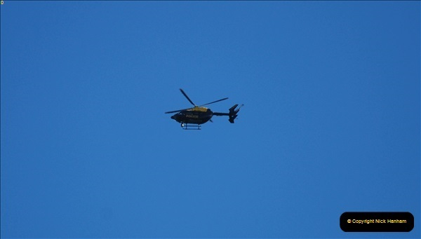 2018-09-2003 Police helicopter over London Kings X.102