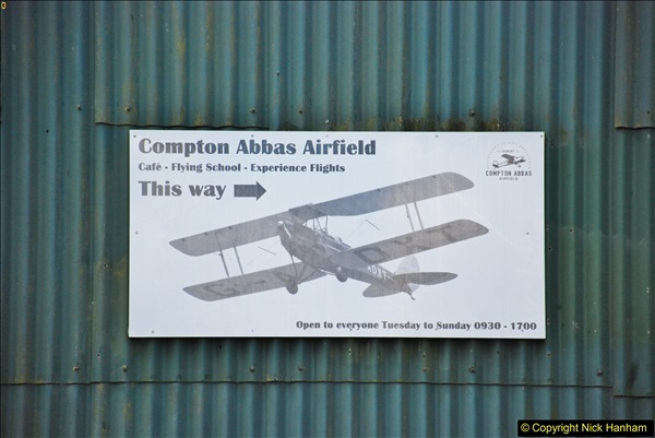 Compton Abbas Airfield Dorset 06 February 2018
