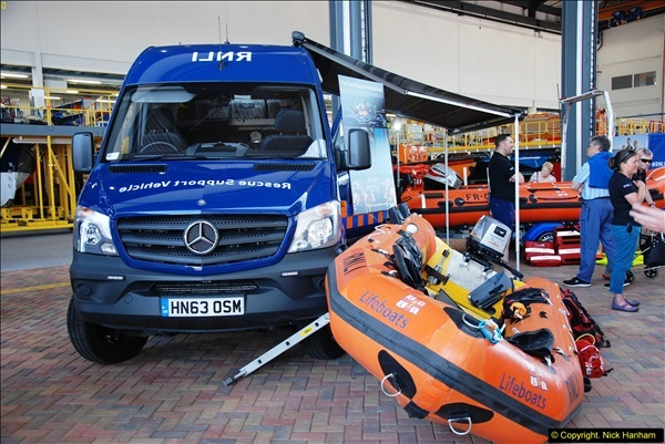 2015-06-22 RNLI Open Day including the new lifeboat building facility.  (41)041