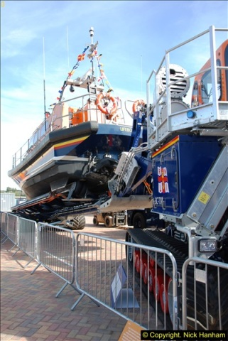 2015-06-22 RNLI Open Day including the new lifeboat building facility.  (55)055